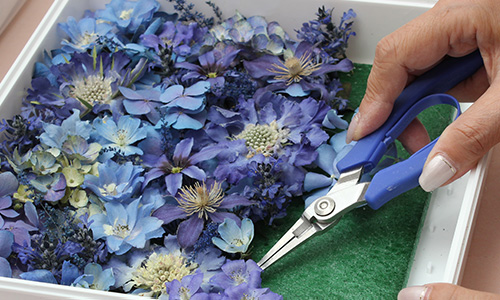 手作りの供養花